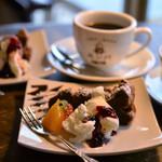 ルンバ珈琲 カフェ リノンカ - セットのデザート♡