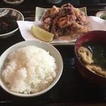 60979754 - たこ天ぷら定食