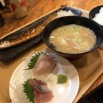 根室食堂 - 秋刀魚定食