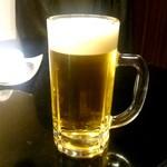 仁 - 生ビール:650円