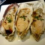 仁 - 生牡蠣3ヶ:1,350円