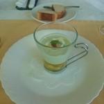 60985168 - スペシャリテ アボカドの冷静スープ