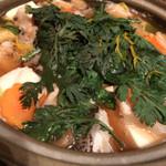 吟ばん - 天然クエ(アラ)鍋。