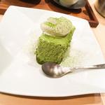 茶CAFE 竹若 - 抹茶ティラミス