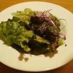 ラジ・カフェ・アパートメント - 前菜