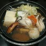 三海の華 - 三海コース(5000円)3.鍋物