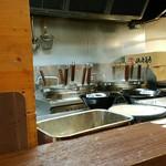 横浜家系ラーメン 町田商店33 - 厨房ですよ