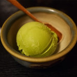 すずめの御宿 - 【抹茶アイスクリーム】¥300