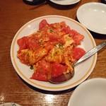 蔡菜食堂 - トマト卵炒め