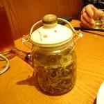 蔡菜食堂 - 緑茶ポット