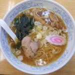 ぎょうざの満洲 宮原駅前店 - 満州ラーメン 410円(税込み)