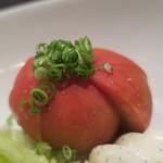 Kappoせな - アメーラトマトのカプレーゼ ズームアップ