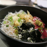 Kappoせな - 料理写真:ミックス丼 ズームアップ