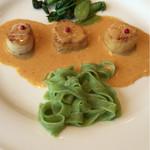 レストラン エピファニー - 私のチョイスのメイン  ほたてのアメリケーヌ