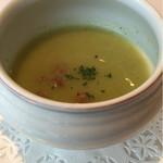 レストラン エピファニー - 私のチョイス②  セロリのスープ
