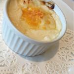 レストラン エピファニー - 母のチョイス①  里芋とブロッコリーのグラタン