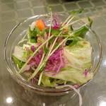 マハラジャ - セットのサラダ