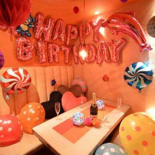 記念日・誕生日デコレーションルーム♪