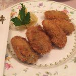 レストラン三ツ星 - 特製タルタルで食べる熱々牡蠣フライ_レストラン三ツ星_2017.1.2