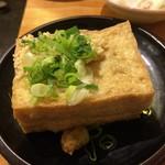 大衆酒場ホームラン食堂 - 揚げたて(厚揚げ) 199円
