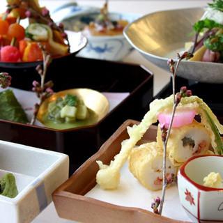 日本料理ならでは旬をいただく