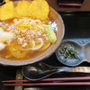 うどん馳走 山石土平 - 料理写真:蕪と揚げ餅のそぼろあんかけうどん