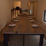 いか焼き 世界 - 2階席は完全予約制の美味しいコース料理のご準備でお待ちしております。
