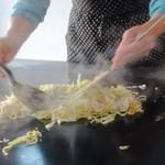 野武士 - 料理写真:鉄板でジュゥ~