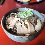 そば処ひふみ - 料理写真:肉そば