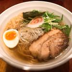 60999721 - 七福ラーメン 弐  (豚)細麺