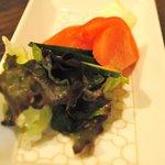 香材創作食房 アーユ - お子様セット 700円 サラダ