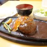 味一 - 2015年6月 ハンバーグ定食【920円】