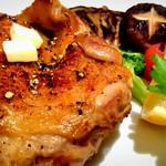 61000101 - 宮崎地鶏のオーブン焼き(塩コショウ)