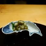 馳走 なか川 - 京都西山漬け(白しば漬け) 480円