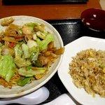 蔵民 - 料理写真:五目焼きそば&チャーハンセット!