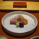 61001114 - 長崎の本鮪、大分の赤貝、熊本のかれいの盛合せ