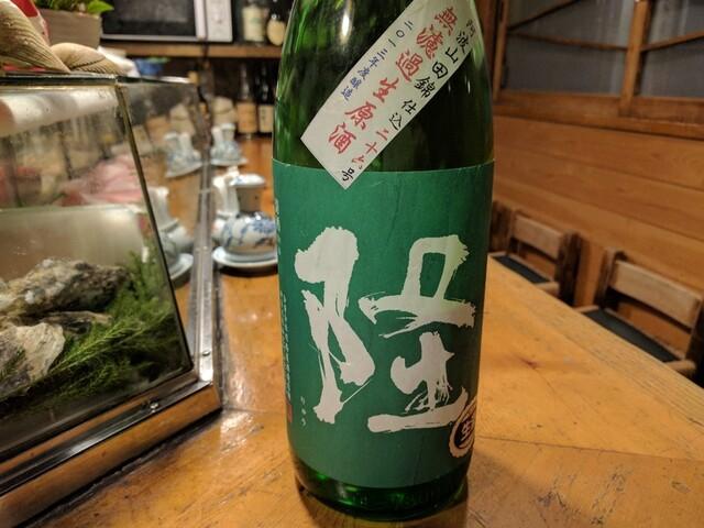 天史朗寿司 - 隆 日本酒