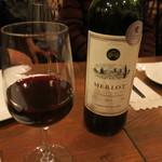 ワイン食堂 ツルカメ - はじめの赤ワイン