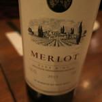 ワイン食堂 ツルカメ - メルロー