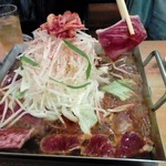 コリアンキッチンあんじゅ - 料理写真:鉄板焼き