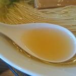 麺や食堂 - 鶏ガラスープ