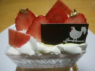 グラマシー ニューヨーク 高島屋日本橋店 - ニューイヤーショートケーキ