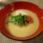 楽膳柿沼 - 白味噌のお椀