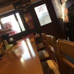 横浜家系らーめん三元 - 防犯カメラ付いてます。