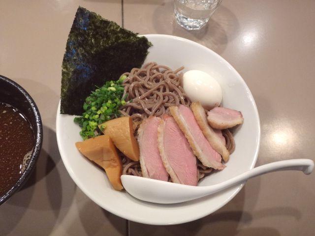 つけ麺 五ノ神製作所 - 淡麗鰹重ね!トリュフの香り燻製合鴨チャーシュー つけ蕎麦!