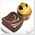 61012606 - 丹波黒豆パン / 渦巻きチョコレート