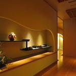 華鳳 - 別邸の料亭 七草の廊下