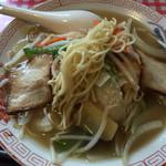 福龍 - 麺は こんなんです