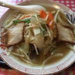 福龍 - 五目麺=750円