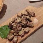 61014246 - 淡海地鶏の塩焼き。旨味の深い鶏さん。